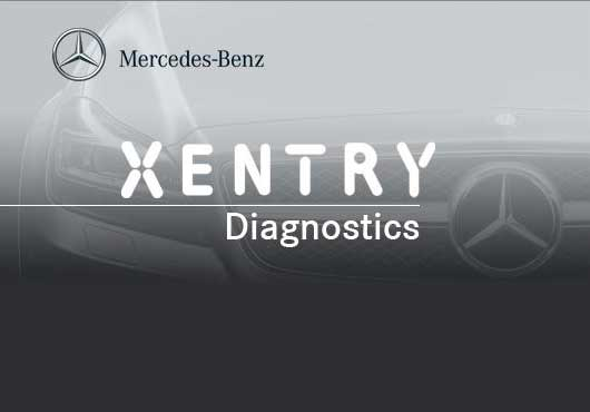 Mercedes Benz Xentry Diagnostics Equipment